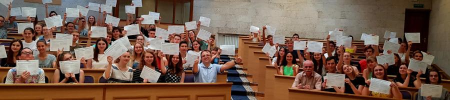 Вітаємо студентів 1-го курсу механіко-математичного факультету з успішним завершенням курсу PCAP