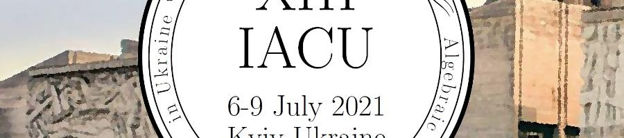 The 13th International Algebraic Conference in Ukraine